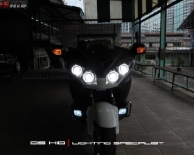 DS Projector Bixenon + DS HID 4300K + Angel Eyes + Blackhousing