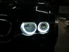 DS Projector Bixenon + DS HID 4300K + Angel Eyes