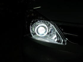 DS Projector Bixenon + DS HID 6000K + Angel Eyes