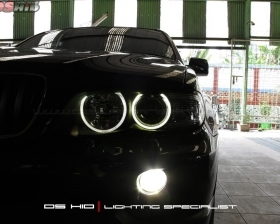 Angel Eyes BMW X5 DS HID 4300K ( Foglamp )