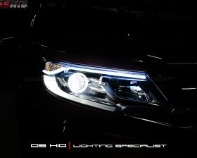 DS HID 6000K + Angel Eyes + LED Strip ( Headlamp ) DS HID 6000K ( Foglamp )