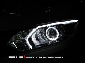 DS Projector Bixenon + DS HID 6000K + Angel Eyes + LED