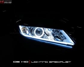 DS Projector Bixenon + DS BID 6000K + Angel Eyes LED + LED Strip