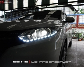 DS Projector Bixenon + DS HID 6000K + LED Strip