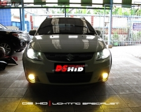 DS Projector Bixenon + DS HID 6000K ( Headlamp ) DS HID 3000K ( Foglamp )