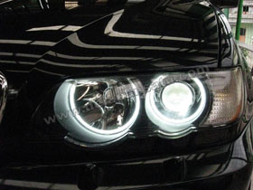 Angel Eyes CCFL + DS HID 6000K
