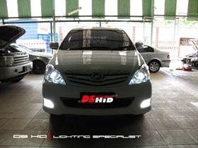 DS Projector Bixenon + DS HID 6000K ( Headlamp ) DS HID 6000K ( Foglamp )