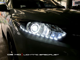 DS Projector Bixenon + DS HID 6000K + Angel Eyes + LED ( Headlamp ) DS HID 6000K ( Foglamp )