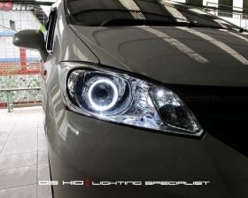 DS Projector Bixenon + DS HID 8000K + Angel Eyes