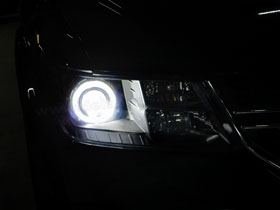 DS Projector Bixenon + DS HID 6000K + Angel Eyes LED ( Headlamp ) DS HID 6000K ( Foglamp )