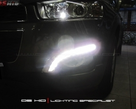 DS HID 6000K ( Low Beam + Foglamp ) DRL Chevrolet Captiva