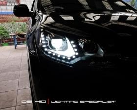 Headlamp Honda CRV + DS HID 6000K