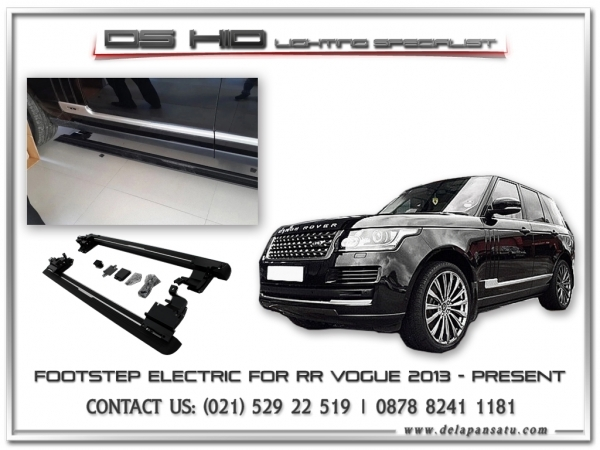 Conversion / Facelift Parts - Electric Footstep Range Rover Vogue