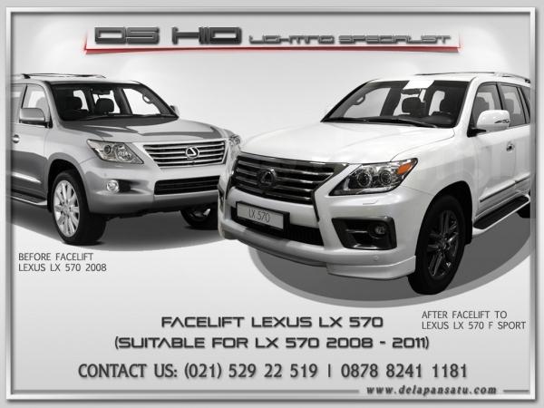 Conversion / Facelift Parts - Lexus LX570 To 2013