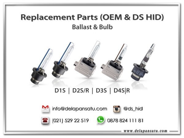 DS HID - DS HID & OEM REPLACEMENT PARTS