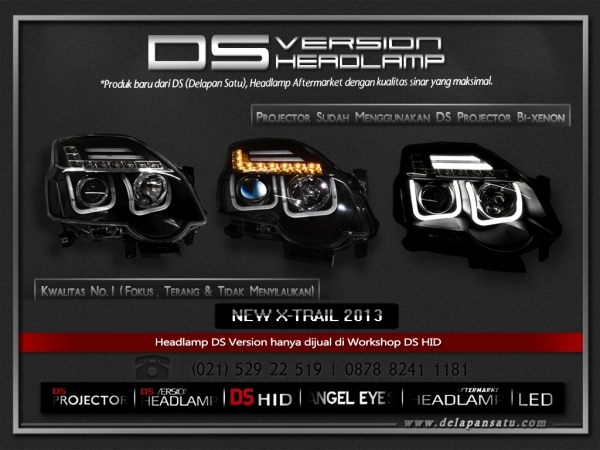 DS Headlamp - NISSAN X-Trail