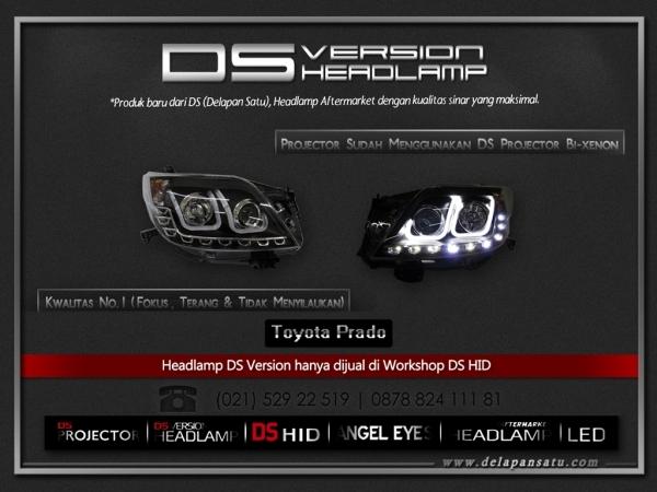 DS Headlamp - TOYOTA Prado
