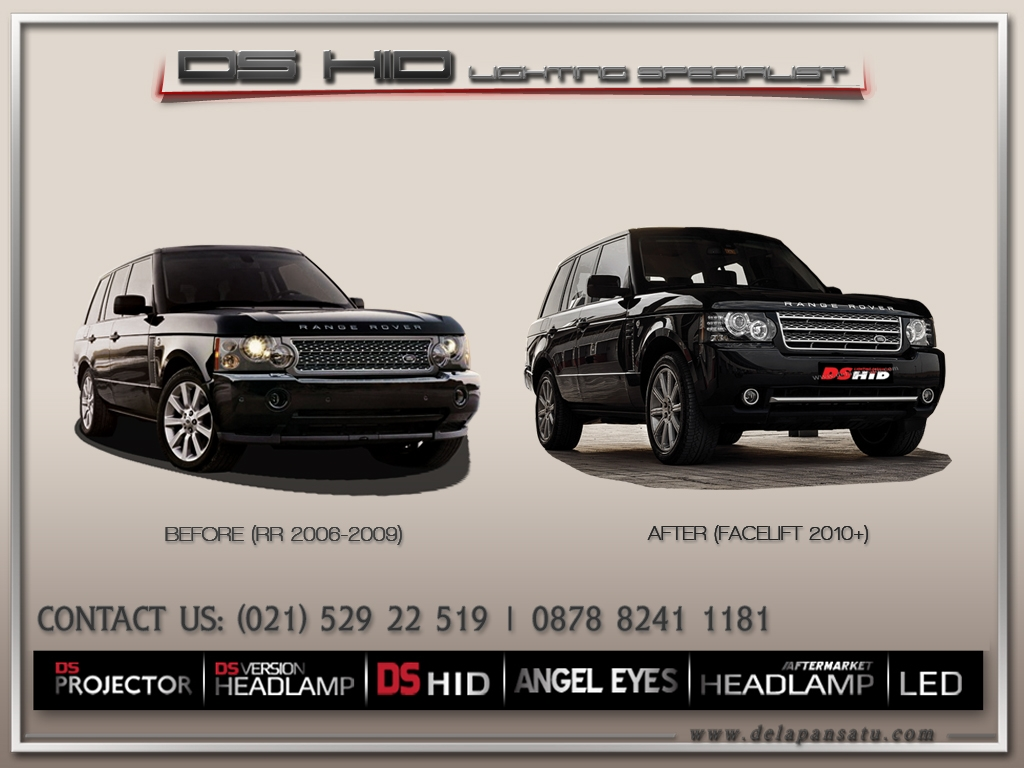 Range Rover Vogue 2002-2009 to 2010+