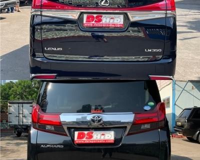 Alphard To Lexus LM