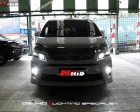 DS HID Replacement Bulb 6000K ( Headlamp ) DS HID 6000K ( Foglamp ) Sillplate Toyota Vellfire