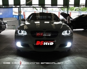Custom Angel Eyes DS HID 6000K
