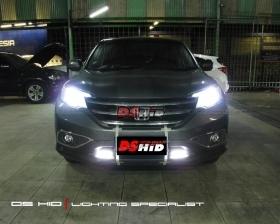 DS HID 6000K + Angel Eyes LED