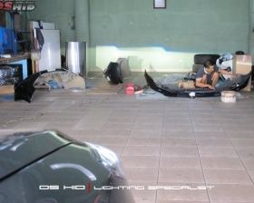 DS Projector + DS HID 6000K