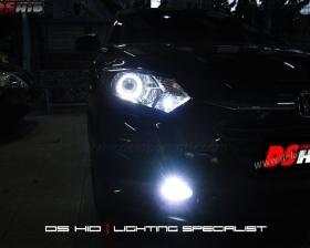 DS Projector Bixenon + DS HID 6000K + Angel Eyes ( Headlamp ) DS HID 6000K ( Foglamp )