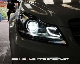 Headlamp C Class OEM Look + DS HID 6000K