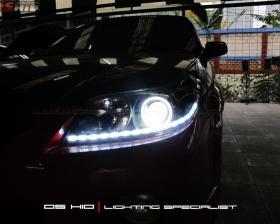 DS Projector Bixenon + DS HID 6000K + Angel Eyes + LED Strip ( Headlamp ) DS HID 3000K ( Foglamp )