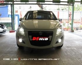 DS Projector Bixenon + DS HID 4300K ( Headlamp ) DS HID 4300K ( Foglamp )