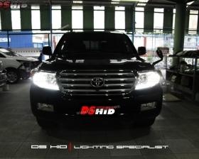 Headlamp Land Cruiser OEM Look + DS HID 6000K