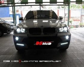 DS HID Replacement Bulb 6000K + Angel Eyes Replacement Bulb BMW X5( Headlamp ) DS HID 6000K ( Foglamp ) DRL BMW X5