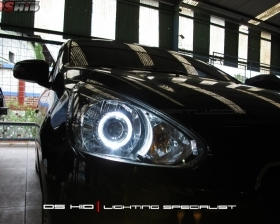 DS Projector AFS + DS HID 6000K + Angel Eyes ( Headlamp ) DS HID 3000K ( Foglamp )