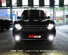 Facelift Range Rover Vogue + DS HID 4300K