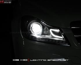 Headlamp DS Version C Class W204 + DS HID 6000K