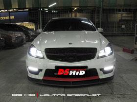 Headlamp C Class DS Version + DS HID 6000K