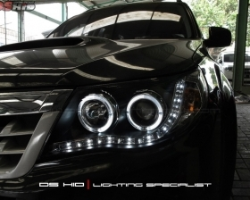 Headlamp DS Verion Subaru Forester + DS HID 6000K