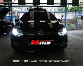 Headlamp VW Polo DS Version + DS HID 6000K