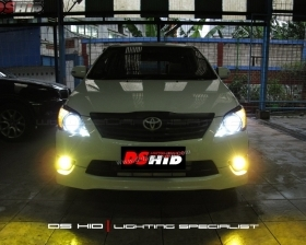 DS Projector AFS + DS HID 6000K + Angel Eyes + Blackhousing ( Headlamp ) DS HID 3000K ( Foglamp )