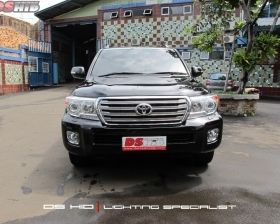 Facelift Toyota Land Cruiser To 2013 Model