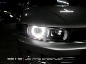 DS Projector Bixenon + DS HID 6000K + Angel Eyes