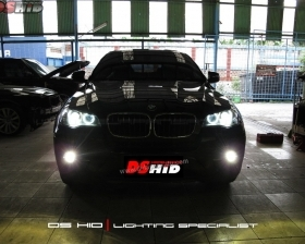 Cuci Headlamp + Angel Eyes Replacement Bulb BMW X6  DS HID 4300K