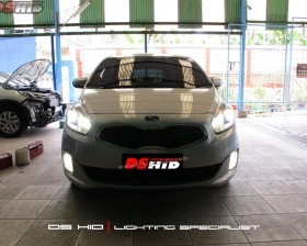 DS HID 4300K ( Low Beam + High Beam + Foglamp )
