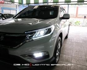 DS Projector Bixenon + DS HID 6000K ( Headlamp ) DS HDI 6000K ( Foglamp ) Led Interior Sillplate Honda CRV