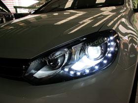 Headlamp Projector Bixenon Golf MK6 + DS HID 6000K