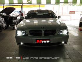 DS HID 6000K ( Headlamp + Foglamp ) Angel Eyes Relacement Bulb BMW