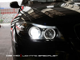 Headlamp Seri 3 E90 + DS HID 6000K ( Headlamp ) DS HID 3000K ( Foglamp )