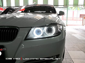 Angel Eyes Replacement BMW E90
