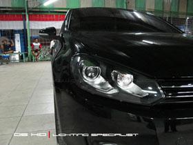 Headlamp DS Version VW Golf MK6